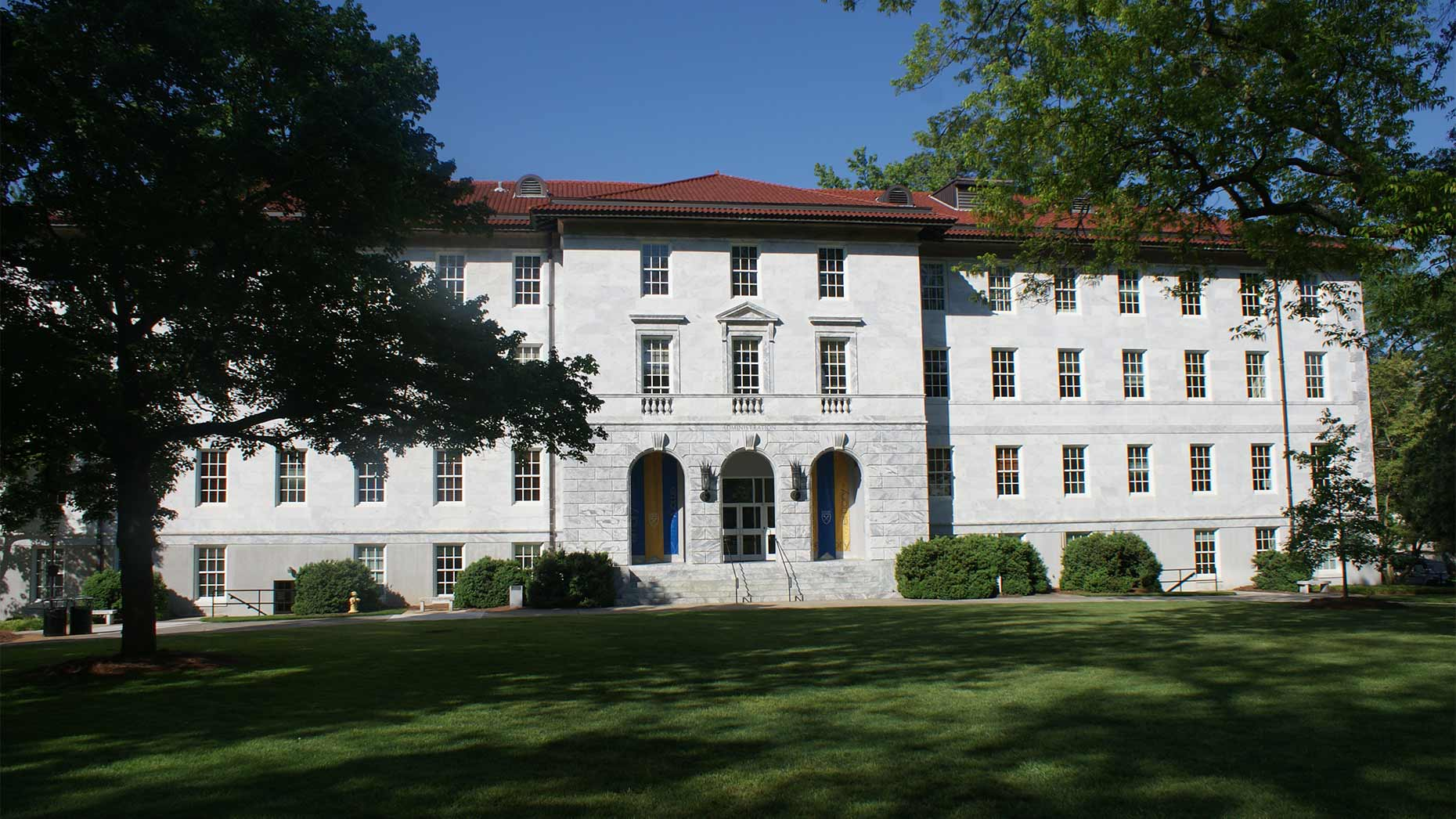 White Administration Building sits on Emory Campus.
